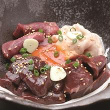 Assorted offal, 4 kinds