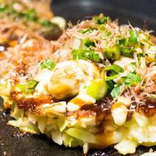Shrimp okonomiyaki