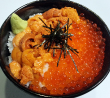 Two-color rice bowl