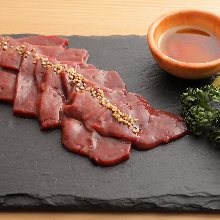 Beef liver (yakiniku)