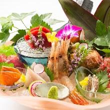 Assorted sashimi, 6 kinds