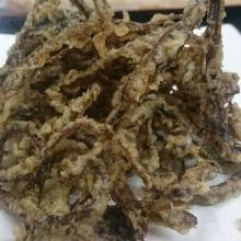 Dried shredded squid tempura