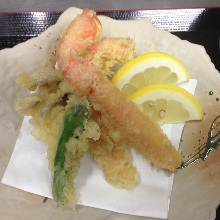 Snow crab tempura