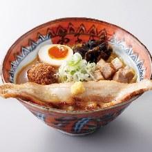 Miso chashu noodles