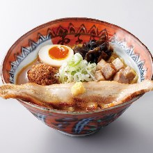 Miso chashu noodles