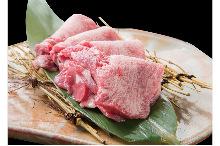 Premium beef tongue steak
