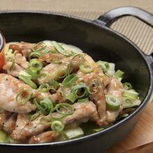 Chicken neck yakiniku (grilled meat)