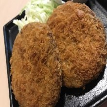 Minced wagyu beef cutlet