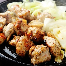 Grilled chicken with spice