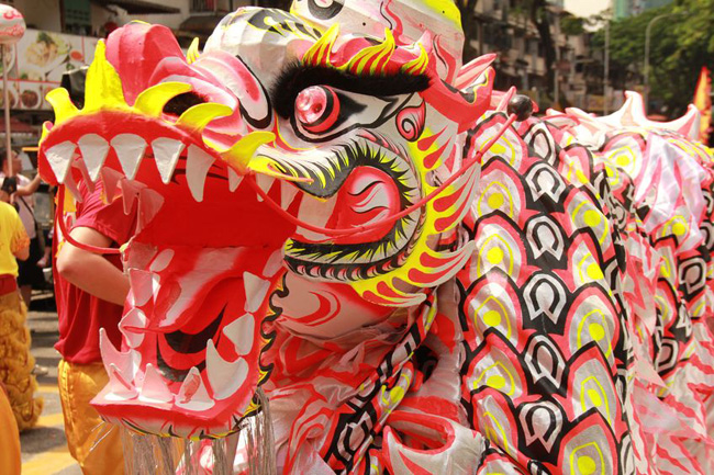 there are a number of public events held to celebrate the lunar new year these festivals typically feature a live music dancing acrobatic performers - Chinese New Year Customs