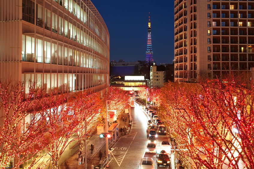 while most homes dont have a christmas tree to decorate its likely that families and couples living in japans metropolitan areas are within easy access - Christmas In Japan