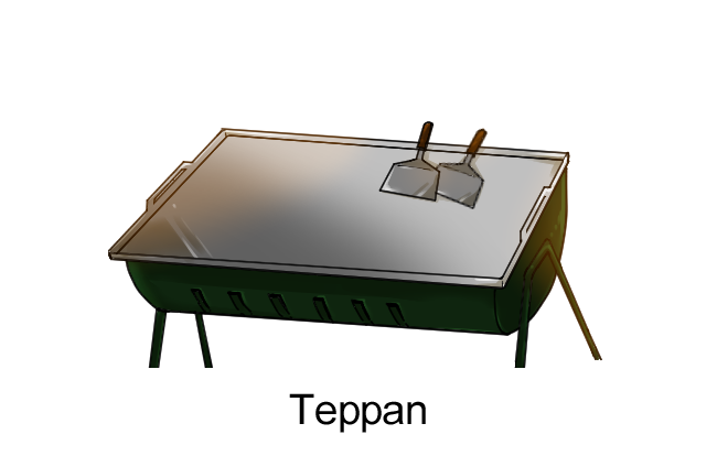 A Teppan Is A Type Of Open Iron Cooktop, Which Become Popular In Japan  Following The Introduction Of Modern Iron Manufacturing. Itu0027s Used To Grill  Meat, ...