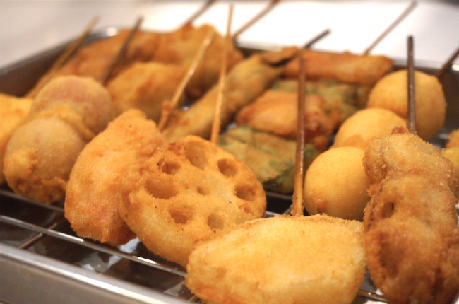 Image result for Deep-fried things on a stick