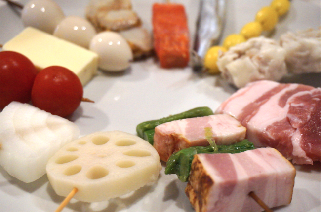 Kushiage the best japanese deep fried food on a stick lets kushiage ccuart Choice Image
