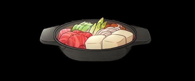 Japanese SukiyakiTraditional Hot Pot, Untraditional Sauce