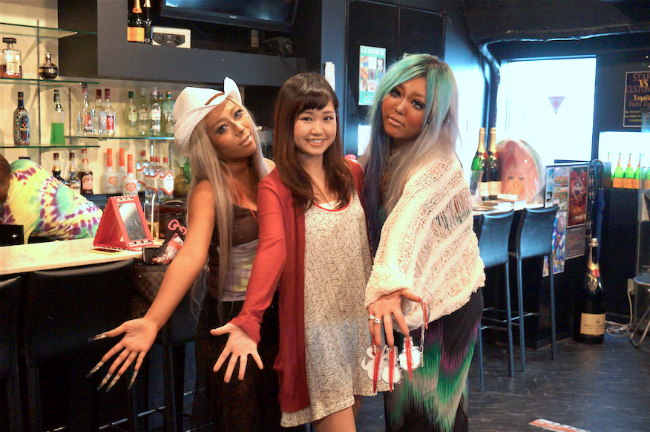 Enter the Ganguro Café, and Savor a Stylish Slice of Shibuya's Fashion History!