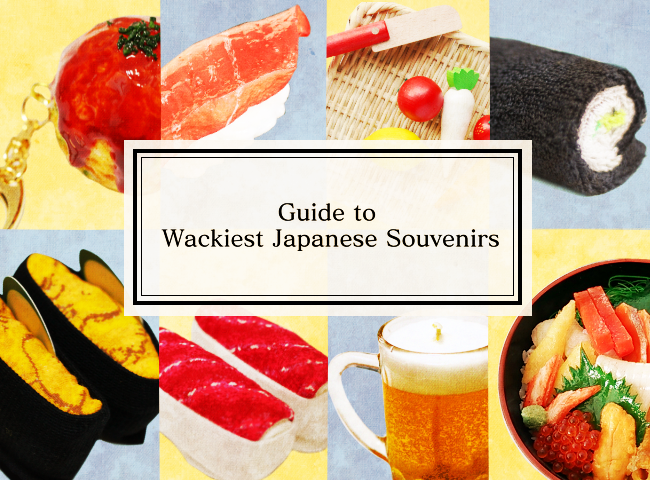 A Guide To Japanese Food Souvenirs: Sushi Socks to Tonkatsu Candles