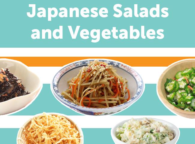 9 Popular Japanese Salads & Vegetable Dishes
