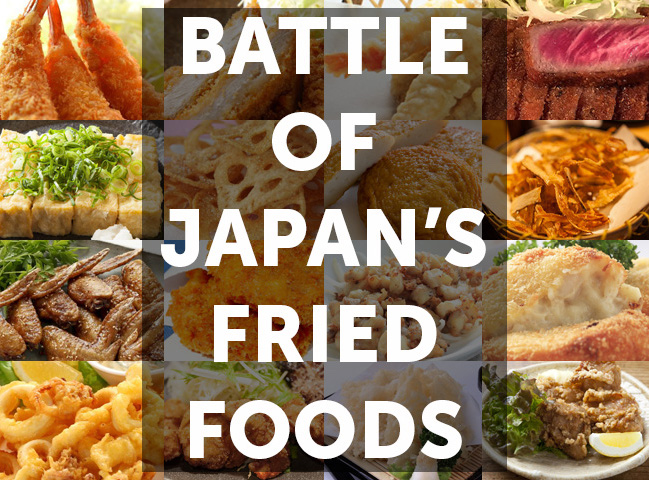 Battle of the Best Japanese Fried Foods