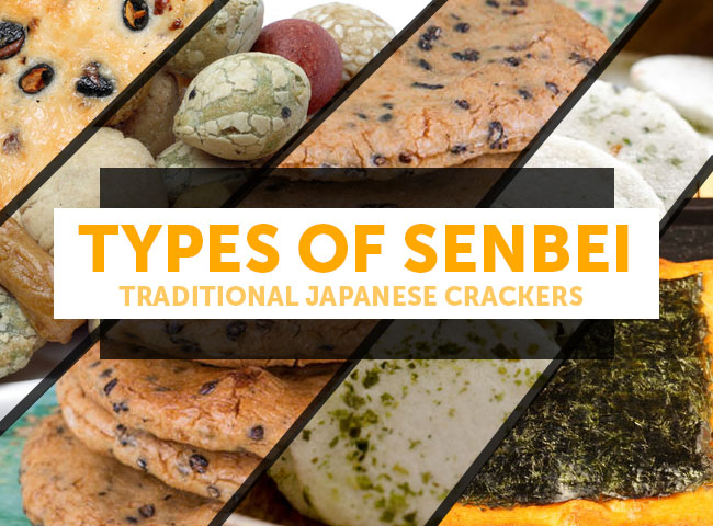 Different Types of Senbei (Japanese Crackers)
