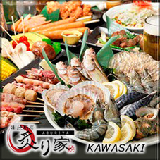 Do-it-yourself Teppanyaki experience -- grilled seafood & skewered chicken!!