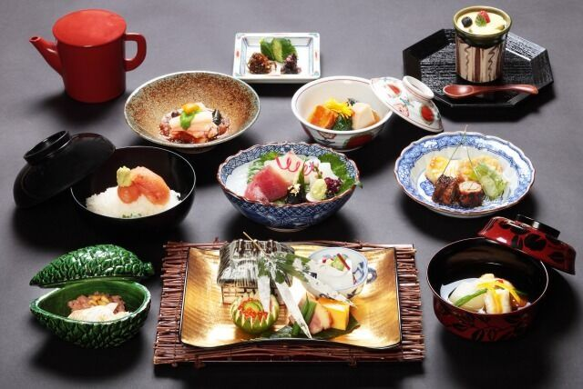 [EXPERIENCE OSAKA KAPPOU(Japanese Cooking)] Special 10,000 Yen Course (dinner)