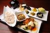 Obanzai Plate with Kyoto wheat starch & tofu skin [Chicken Nanban]