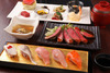 """Japanese Black Beef & Sushi Obanzai Plate """"Kiwami"""""""