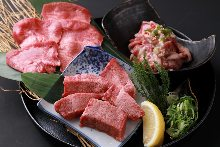 Assorted beef tongue, 3 kinds