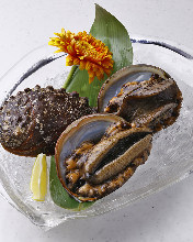Abalone steak / grilled abalone