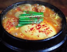 Offal Korean stew