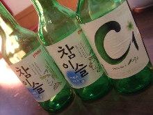 Soju.Korean shochu