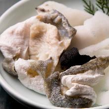 Puffer fish skin (extra)