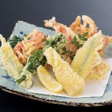 Assorted tempura, 4 kinds