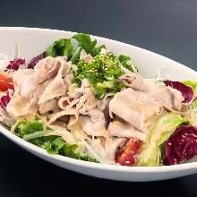 Chilled shabu-shabu salad