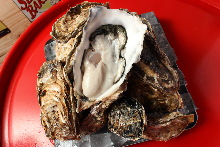 Oyster teppanyaki