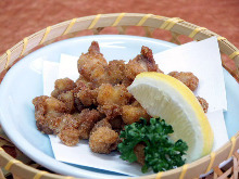 Fried cartilage