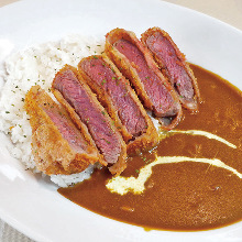 Beef cutlet curry