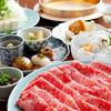 Specialty kuroge wagyu beef(sirloin) shabu-shabu Course【March ~ October】
