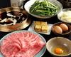 Specialty kuroge wagyu beef(sirloin) sukiyaki course【March ~ October】