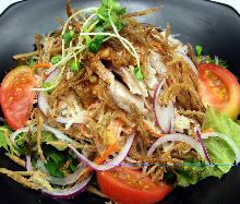 Bang bang chicken style salad