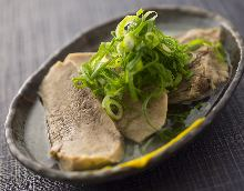 Boiled and simmered tongue