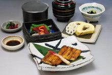 Eel meal set