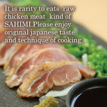 Edible raw chicken