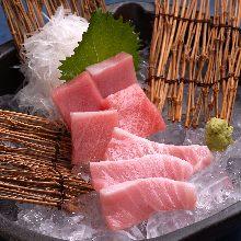 Otoro (fatty tuna) sashimi