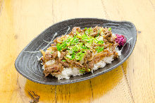 Yakiniku rice bowl