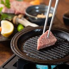 Seared Misuji (beef top blade)