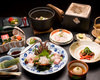 Kaiseki (set of dishes served on an individual tray) Kiri