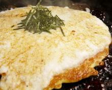 Grated yam okonomiyaki