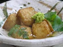 Fried Japanese yam